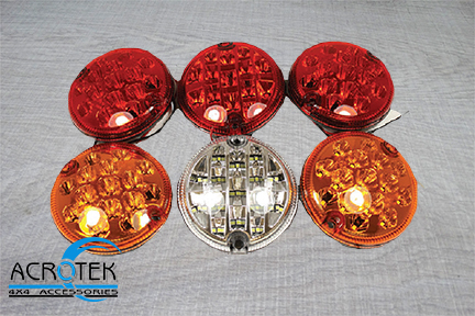 Land Rover Defender LED light kit